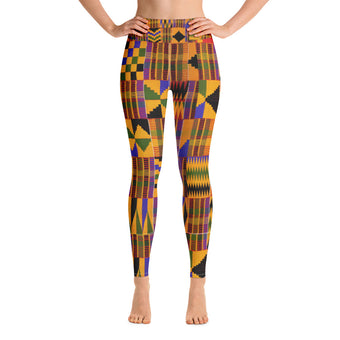 Kente Leggings