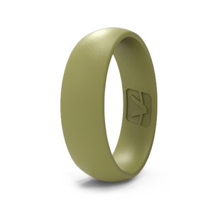 Classic Collection Silicone Ring - Flat Dark Earth