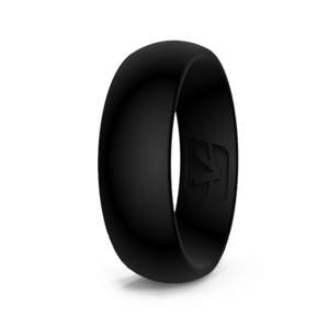 Classic Collection Silicone Ring - Obsidian