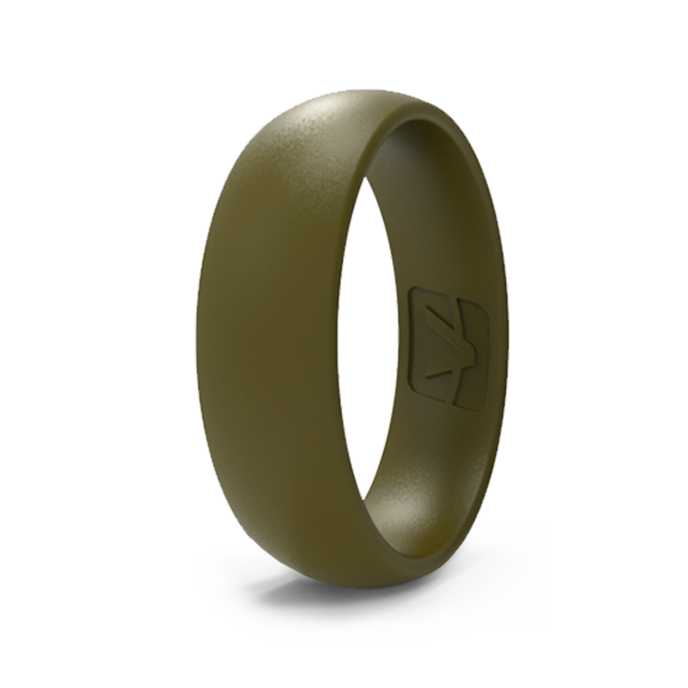 Classic Collection Silicone Ring - Olive Drab