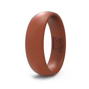 Classic Collection Silicone Ring - Rust