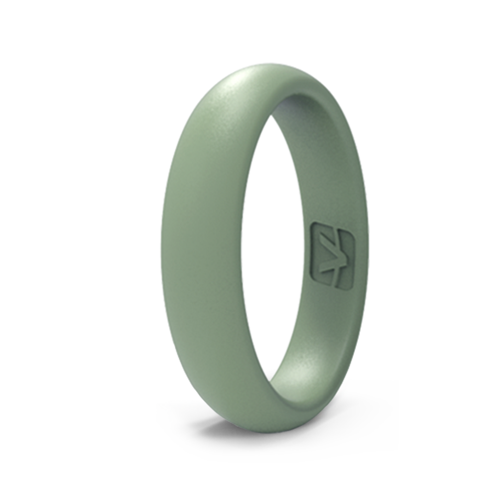 Classic Collection Silicone Ring - Thin - Sage
