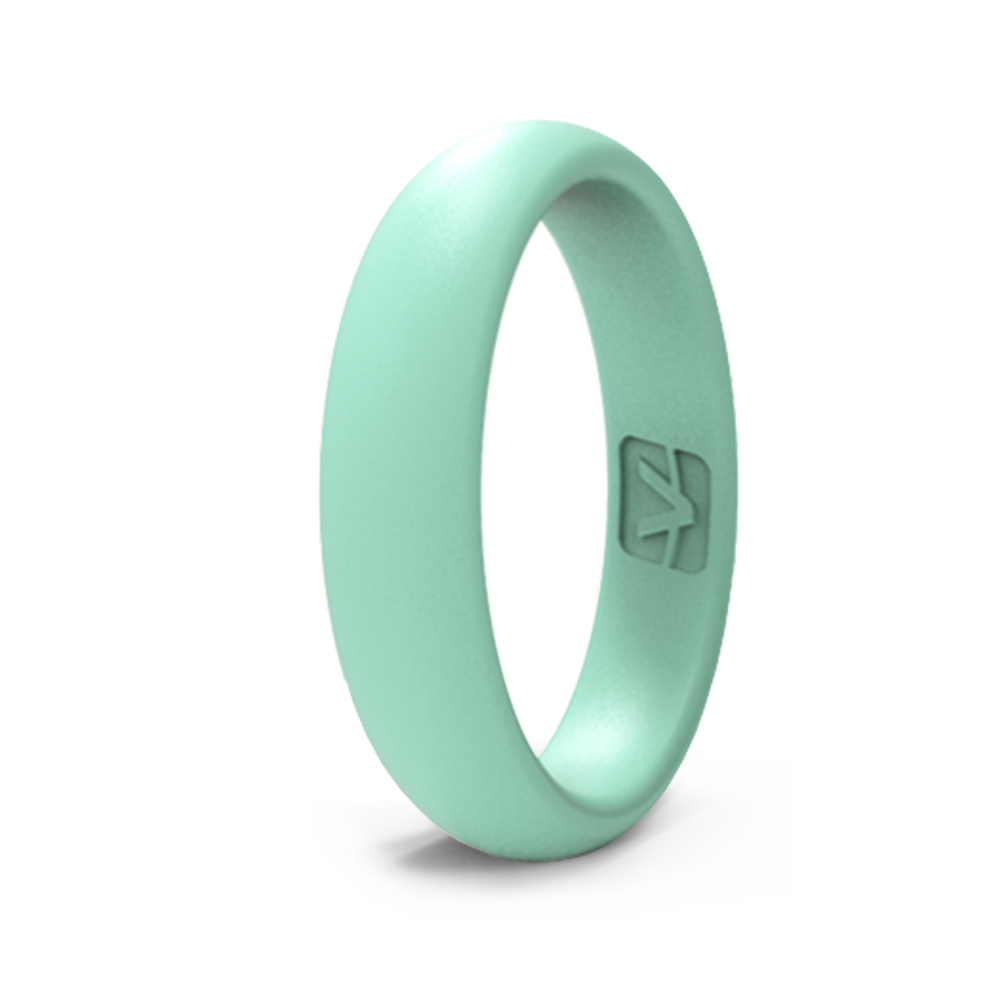 Classic Collection Silicone Ring - Thin - Seafoam