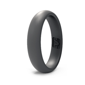 Classic Collection Silicone Ring - Thin - Slate