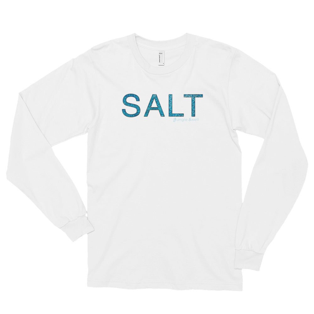 """Salt"" Water Long Sleeve T-Shirt"