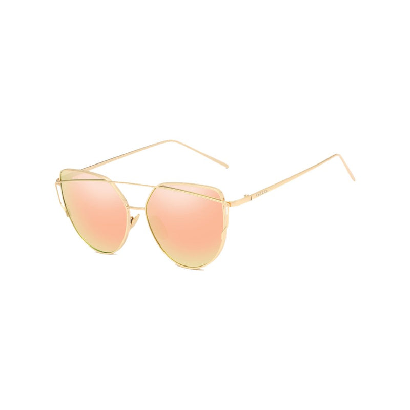 Lunette Rosy Gold Sunglasses