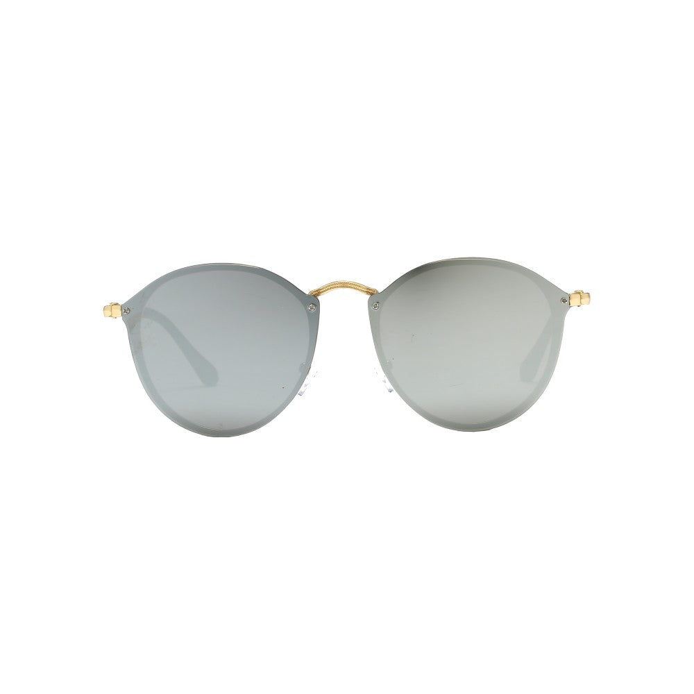 Royale Shining Silver Sunglasses