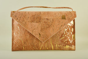 Pamela Large Envelope Clutch in Gold or Colourful flecks by Raw Angel Apparel