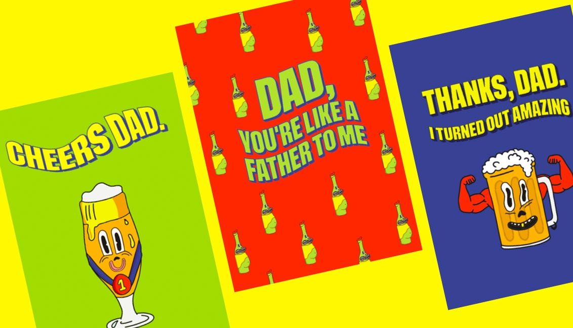 3 FREE Printable Last Minute Father's Day Cards!