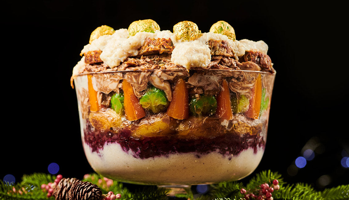 How to make a Christmas Turkey Trifle