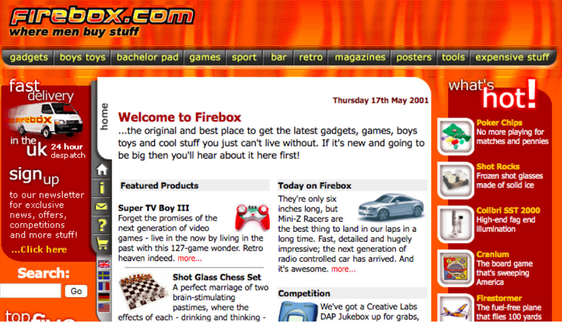 We DID Start The Fire: A Timeline of Firebox
