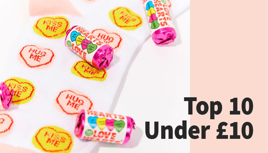 Top 10 Under £10 Valentine's Day Presents