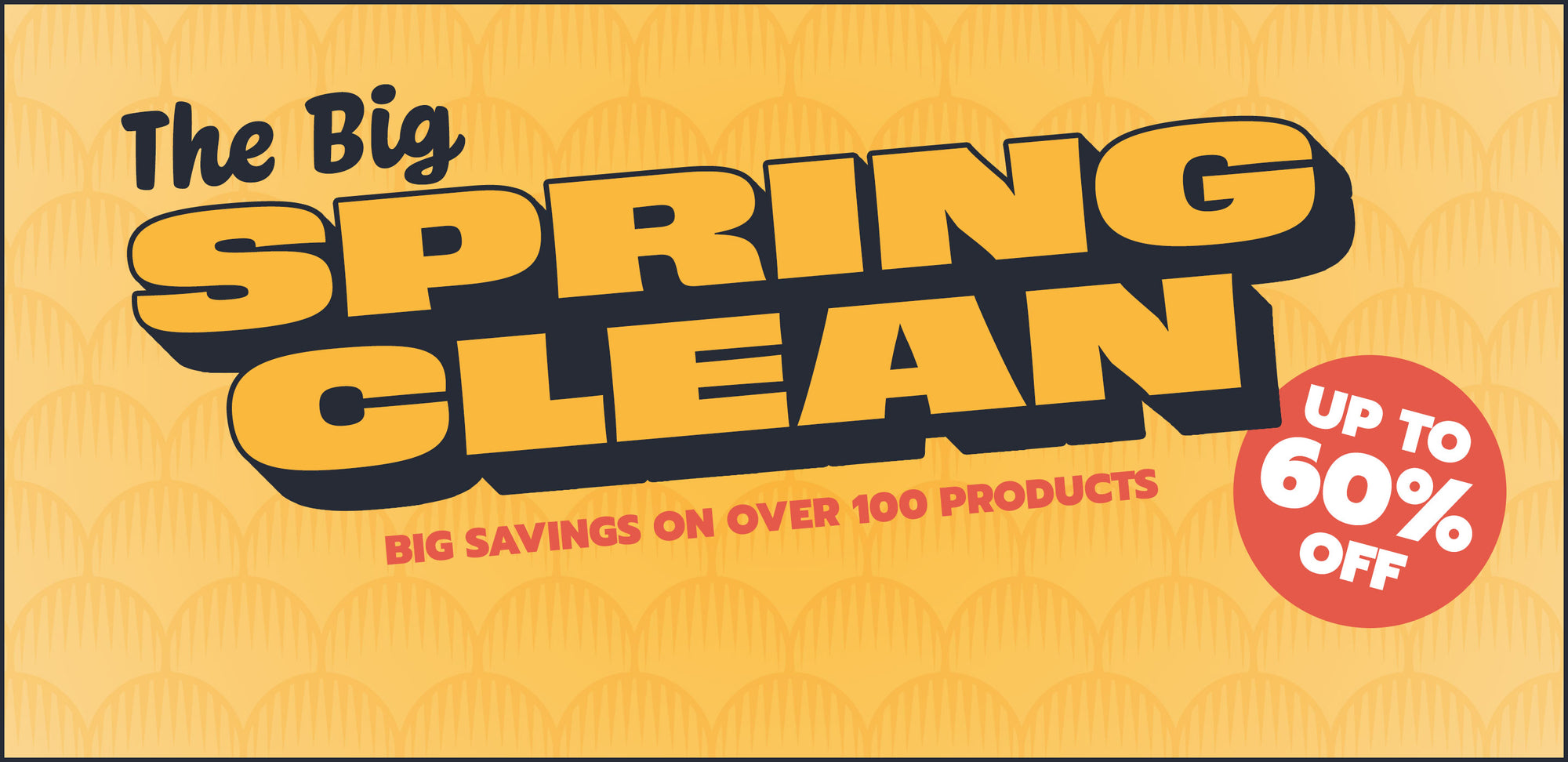The Big Spring Clean Sale