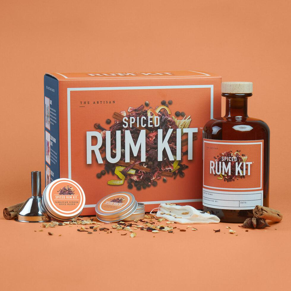 The Artisan Spiced Rum Kit