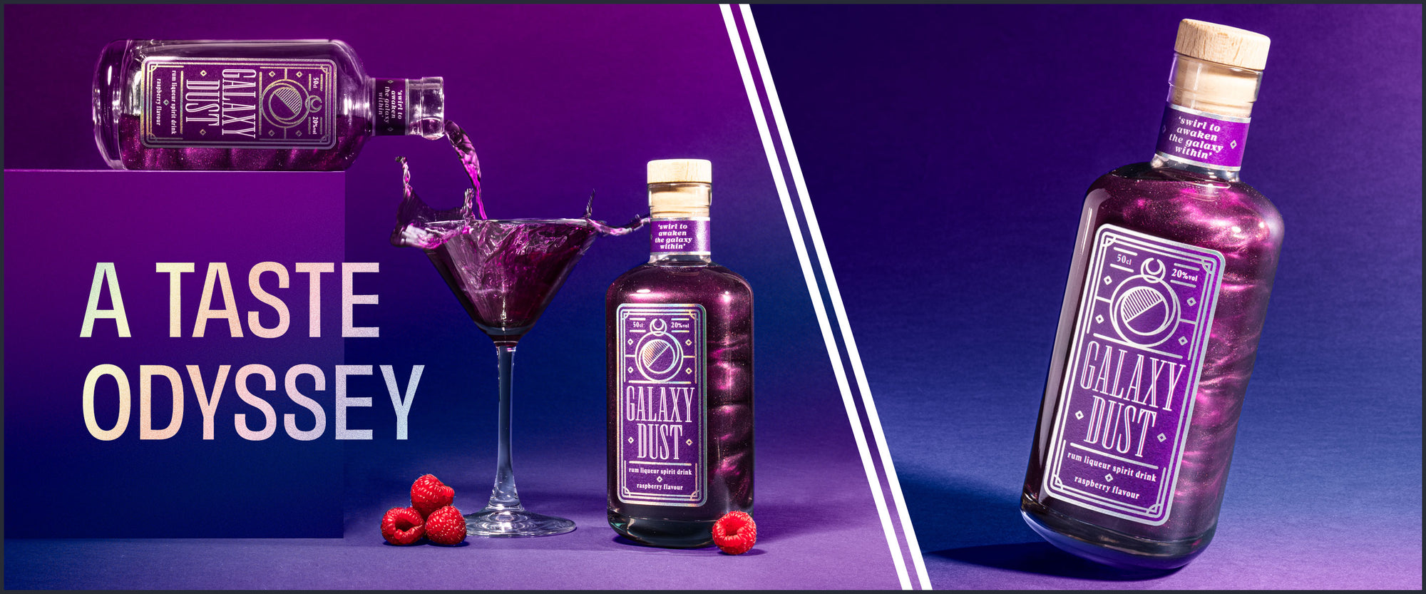 Galaxy Dust Rum Liqueur