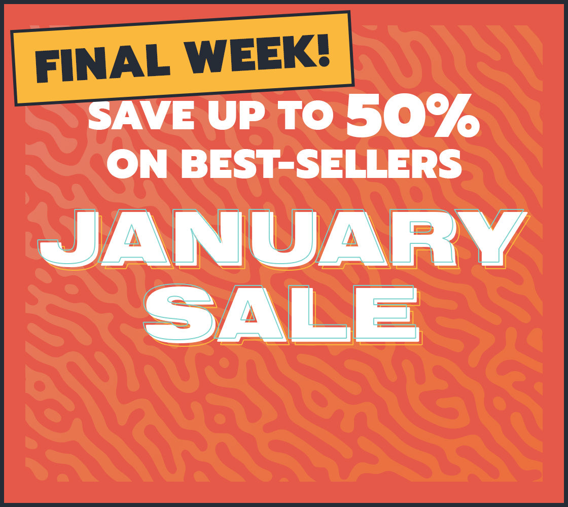Final Week of the January Sale
