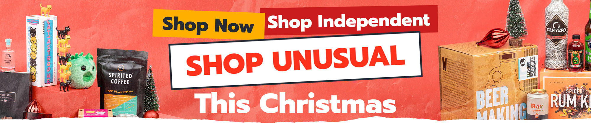 Shop Unusual This Christmas