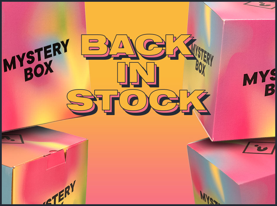 Mystery Boxes Back In Stock