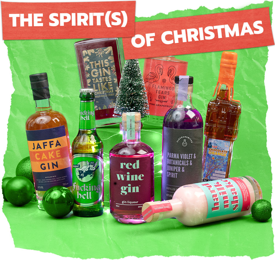 Christmas Alcohol Gifts