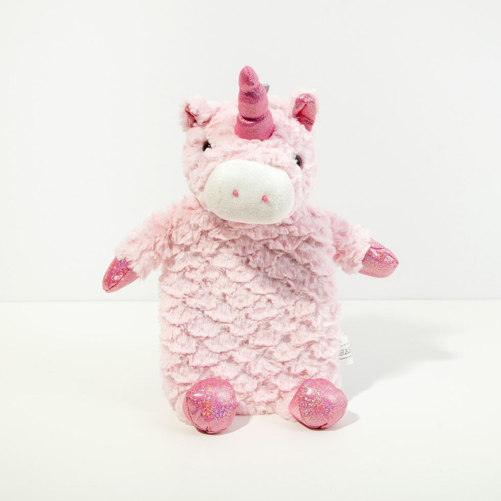 Unicorn Plush Hot Water Bottle