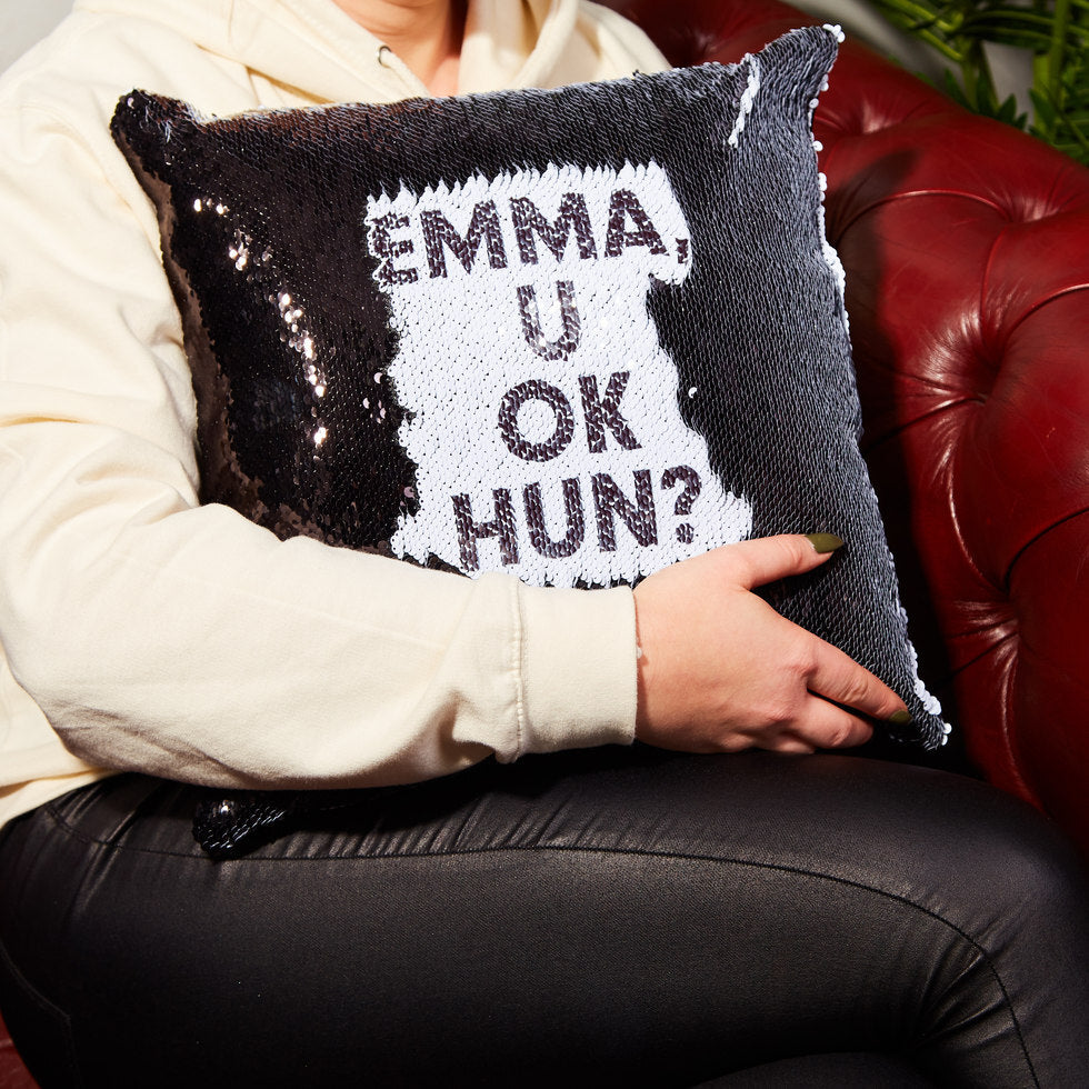 Personalised Hidden Message Cushion