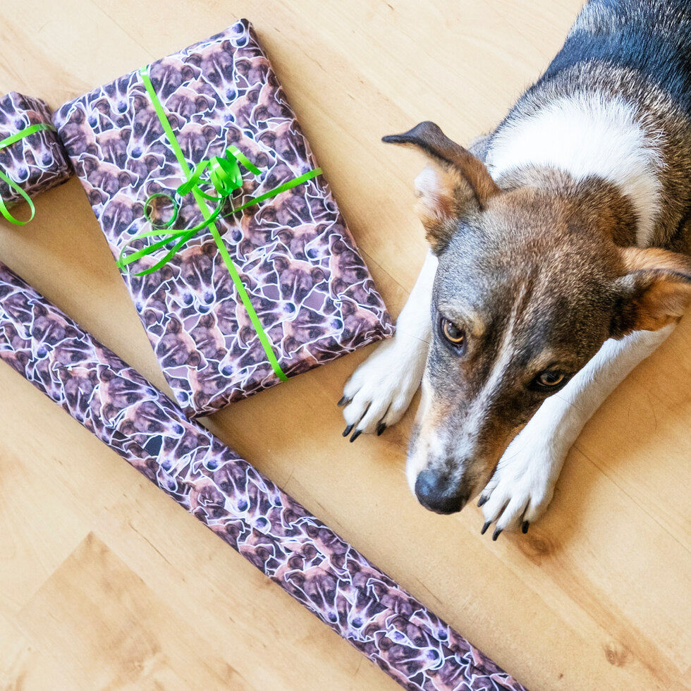 Pet Wrap  – Personalised Pet Gift Wrap