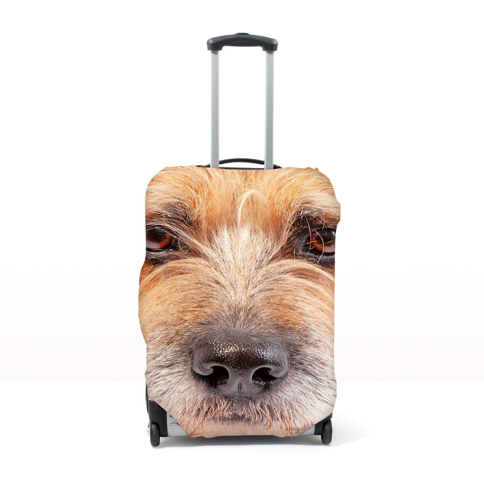 Pet Head Case – Personalised Pet Luggage Cover - L - (Cases 76-81cm tall)
