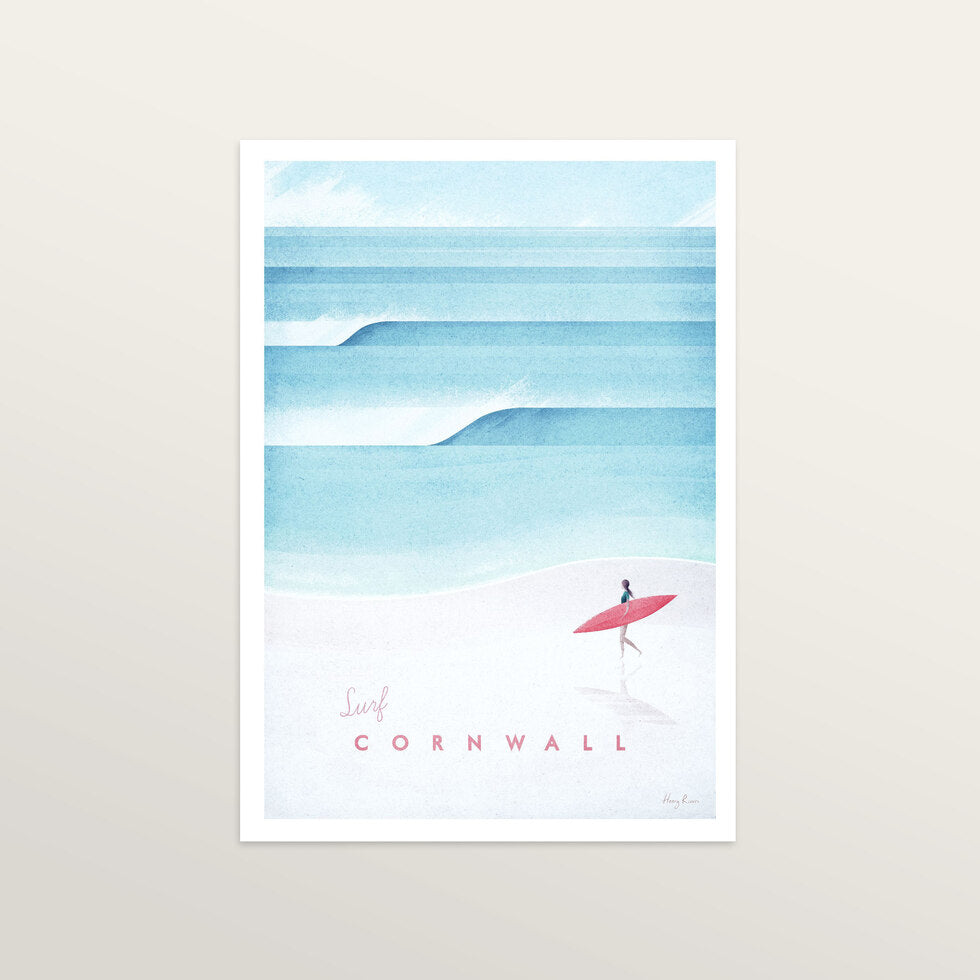 Cornwall - Art Print - large A2 print only