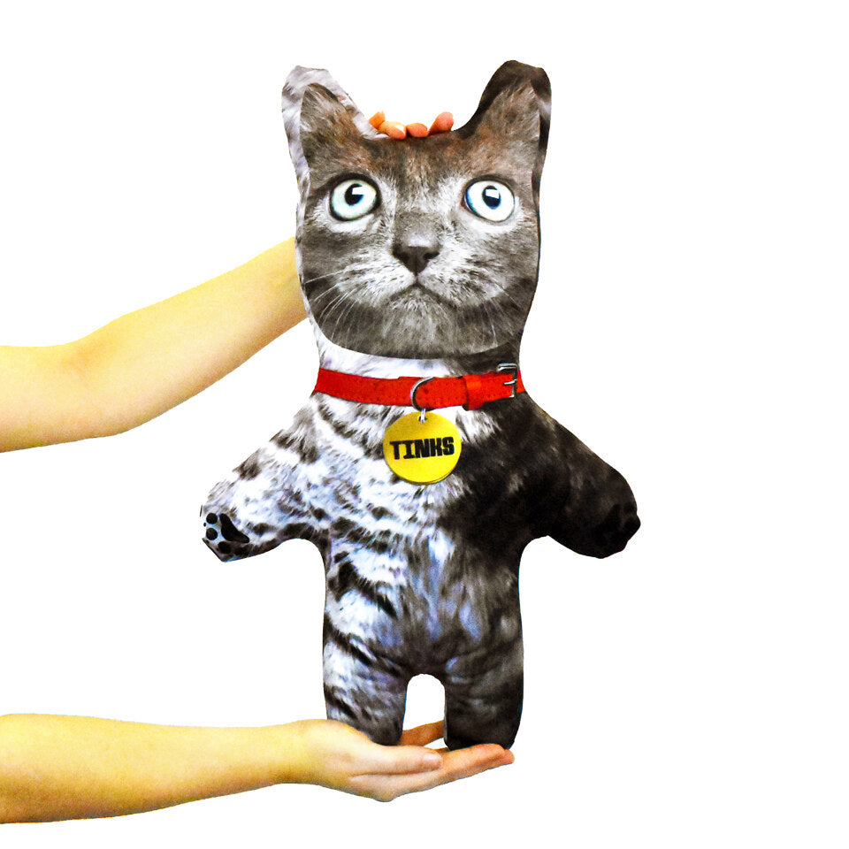 Pet Mini Me Grey Cat - Personalised Doll