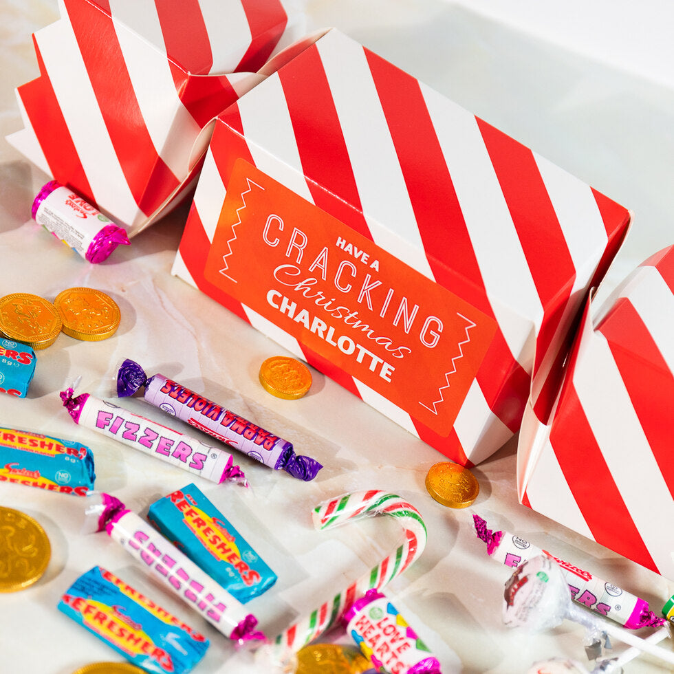 Personalised Giant Christmas Sweet Cracker