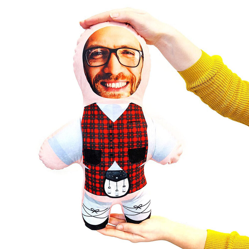 Mini Me Kilt - Personalised Doll