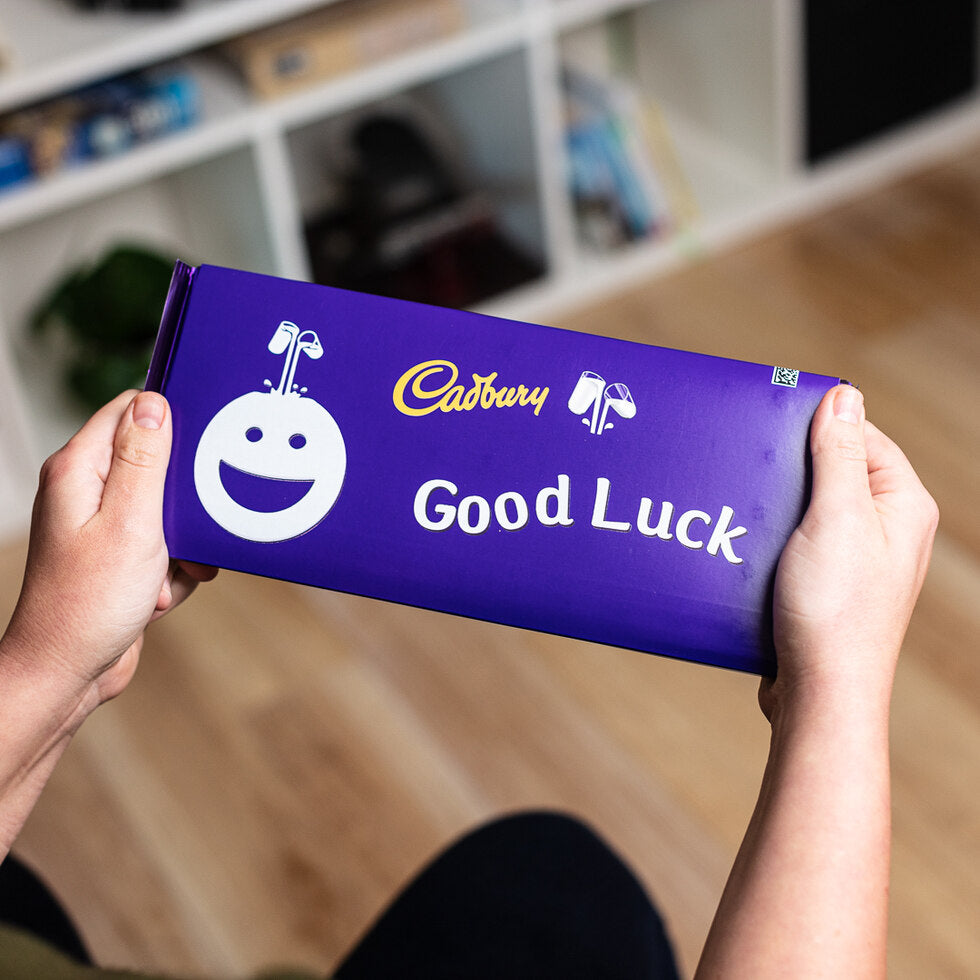 Personalised Cadburys Dairy Milk 360g - Face Emoji