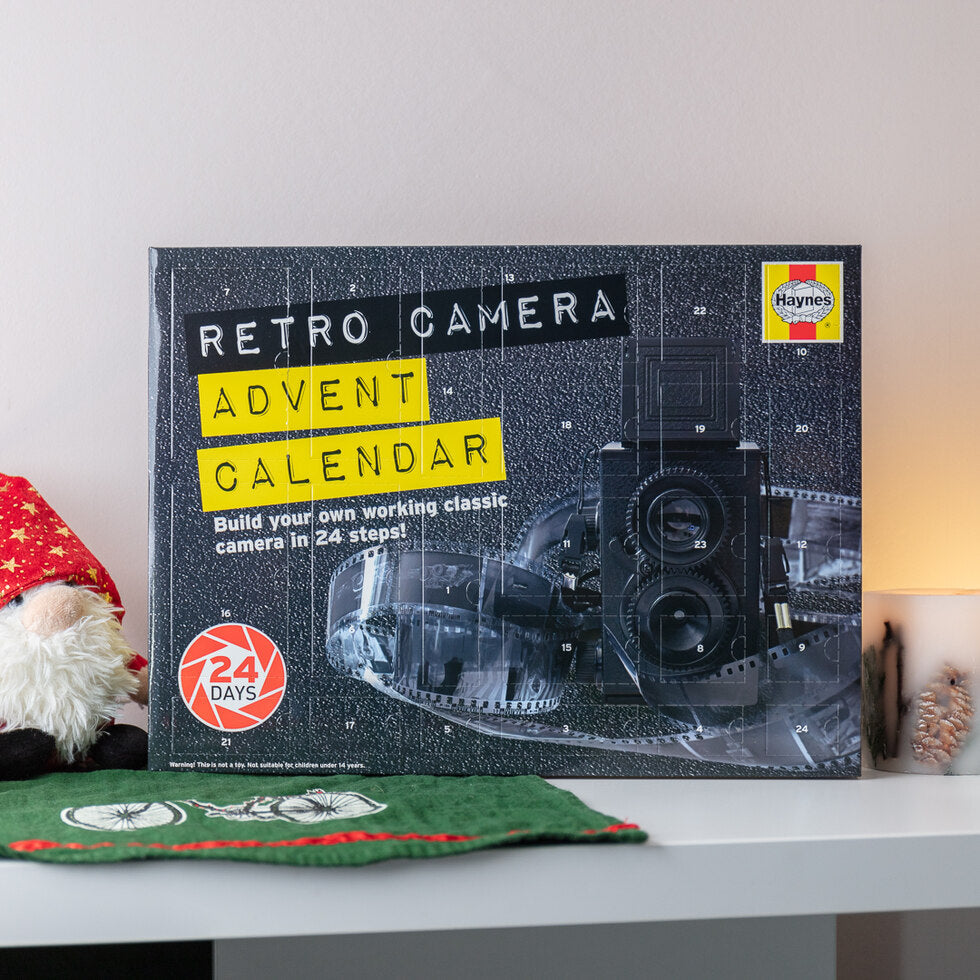 Haynes Retro Camera Advent Calendar
