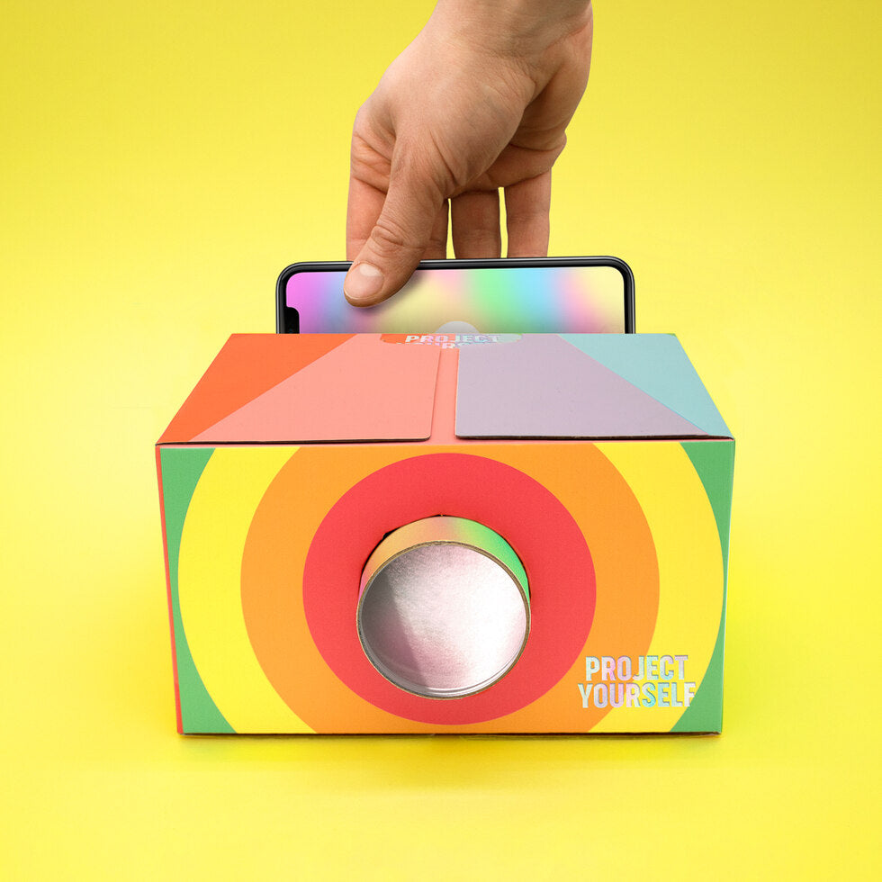 Project Yourself Cardboard Projectors