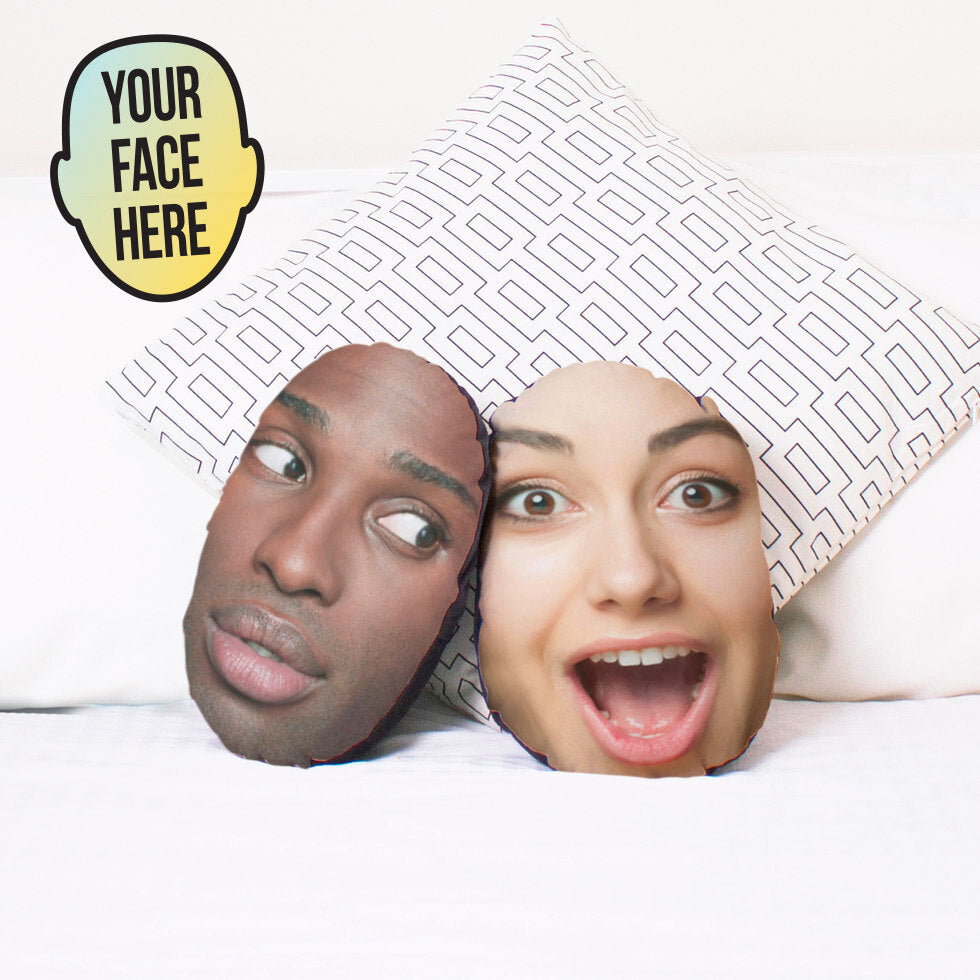 Mushions®  - Personalised Face Cushions