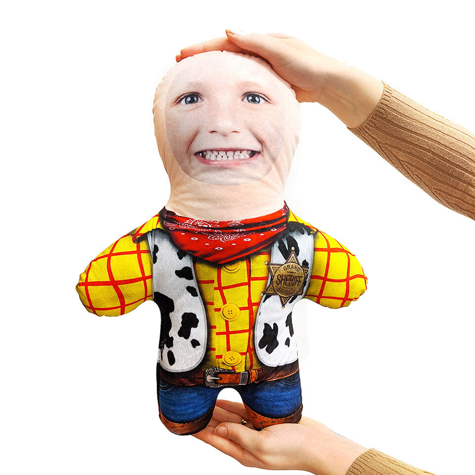 Mini Me Cowboy - Personalised Doll