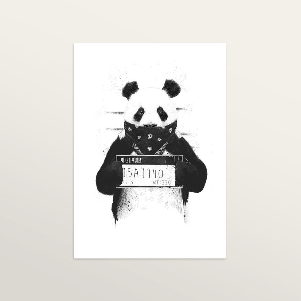 Bad Panda - Art Print - medium A3 print only