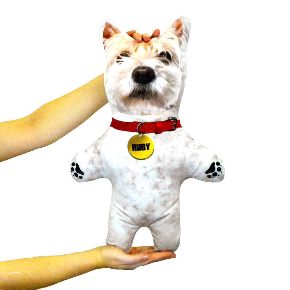 Pet Mini Me White Dog - Personalised Dog