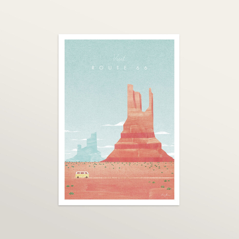 Route 66 - Art Print - medium A3 print only