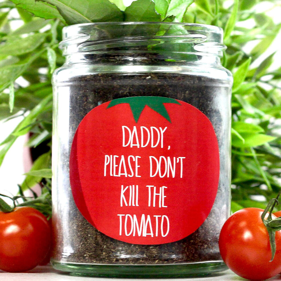 Personalised Grow Your Own Plant Jar - Tomato