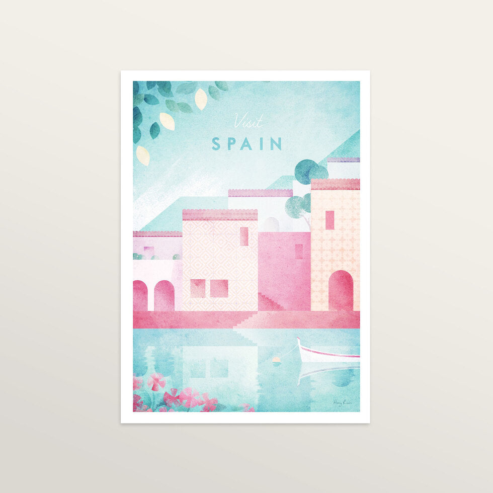 Spain - Art Print - large A2 print only