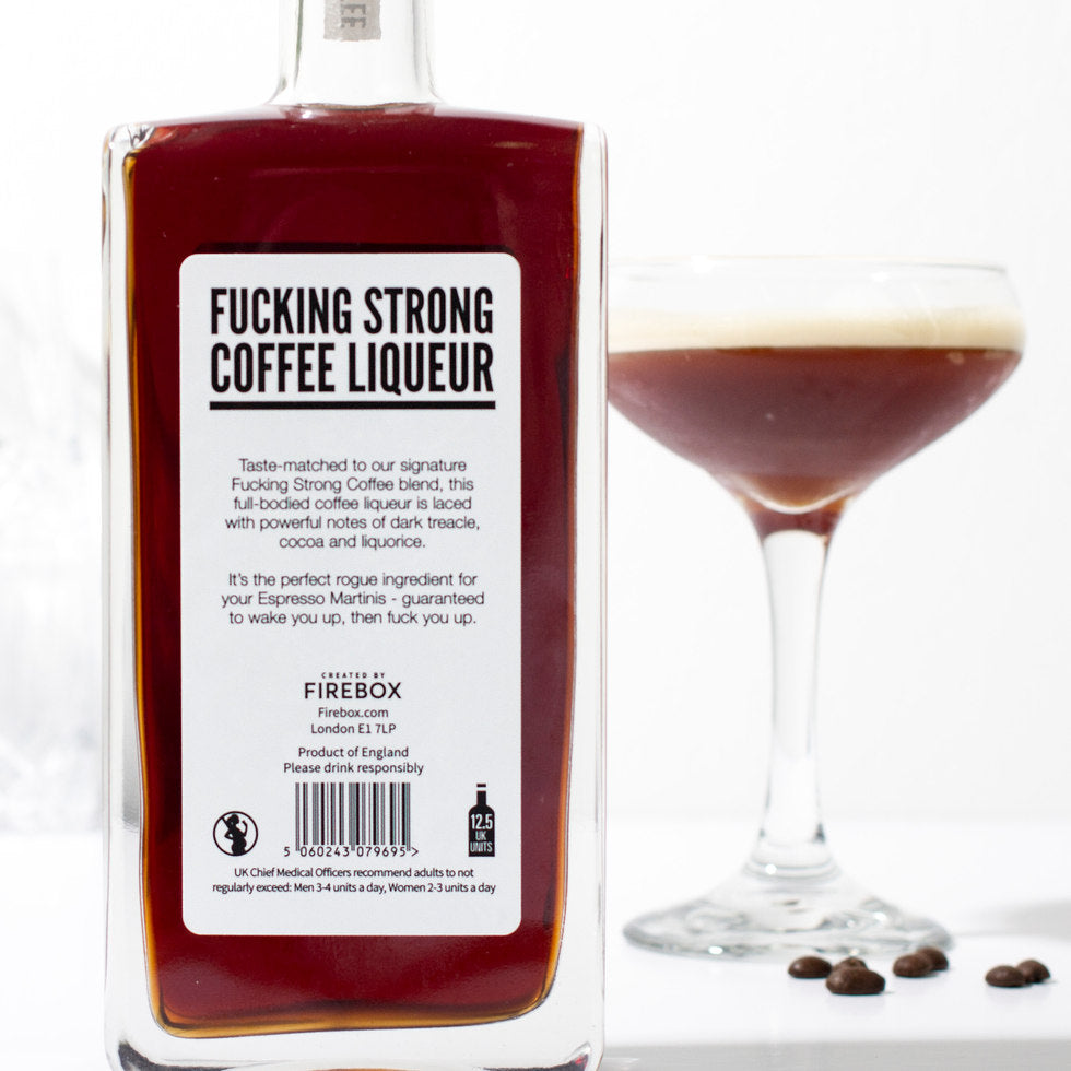 F*cking Strong Coffee Liqueur