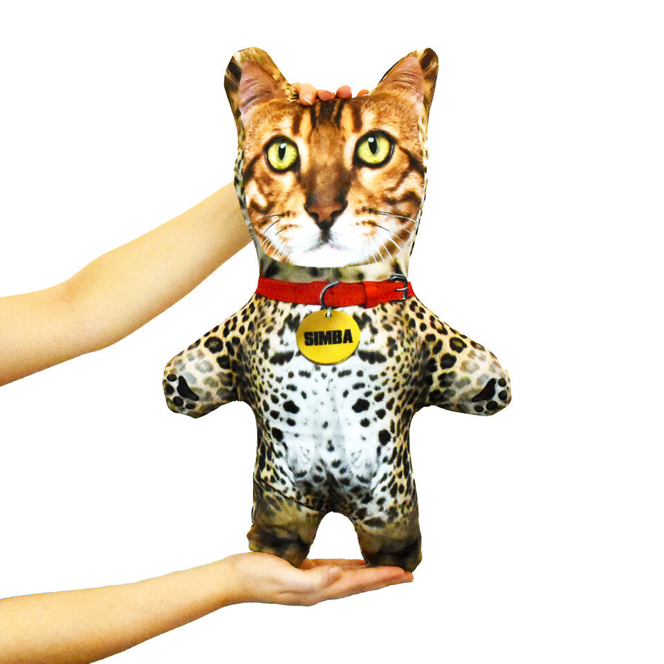 Pet Mini Me Leopard Cat - Personalised Doll