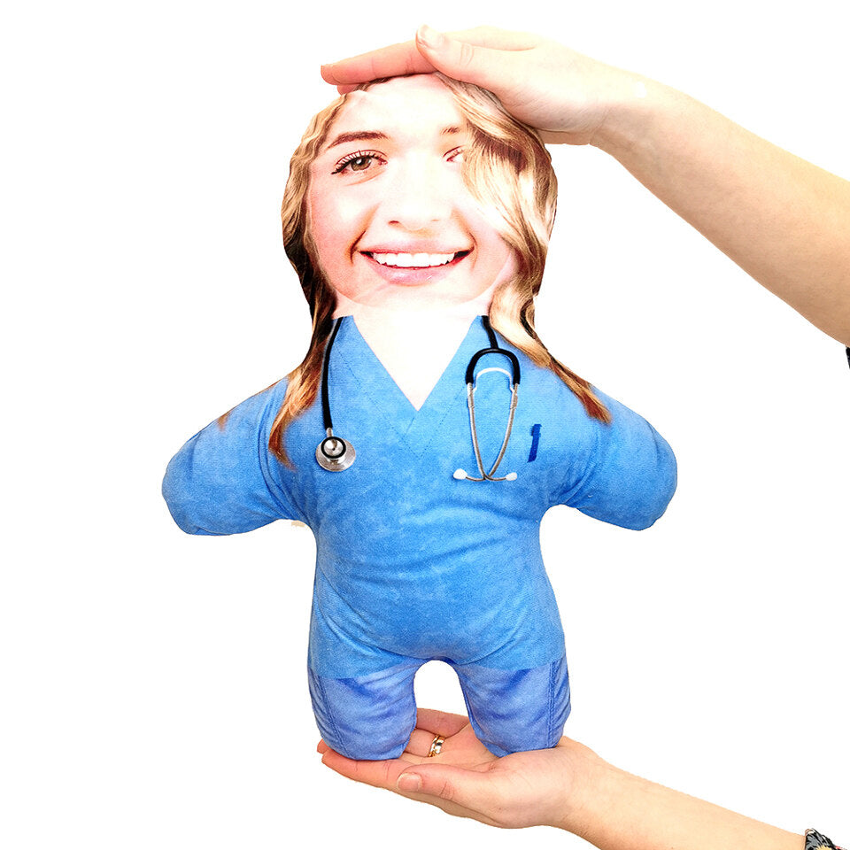 Mini Me Nurse - Personalised Doll