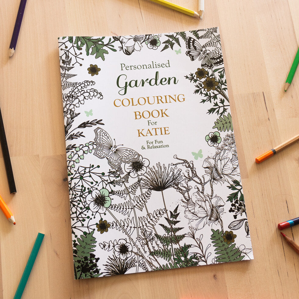 Personalised Colouring Books - Gardening