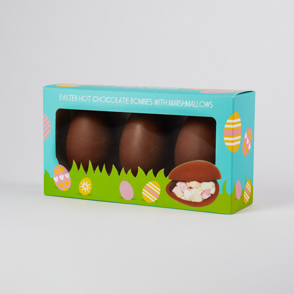 Easter Egg Hot Chocolate Bombes