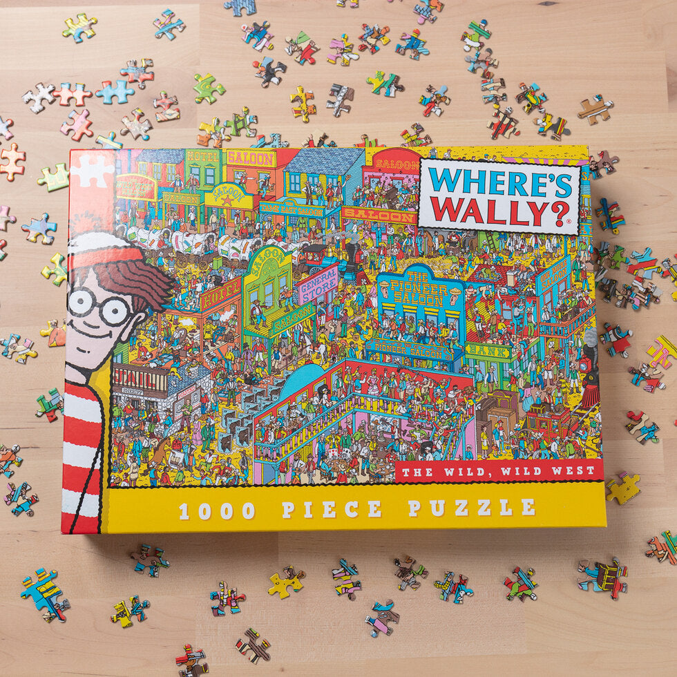 Where's Wally Jigsaw Puzzles - Wild West