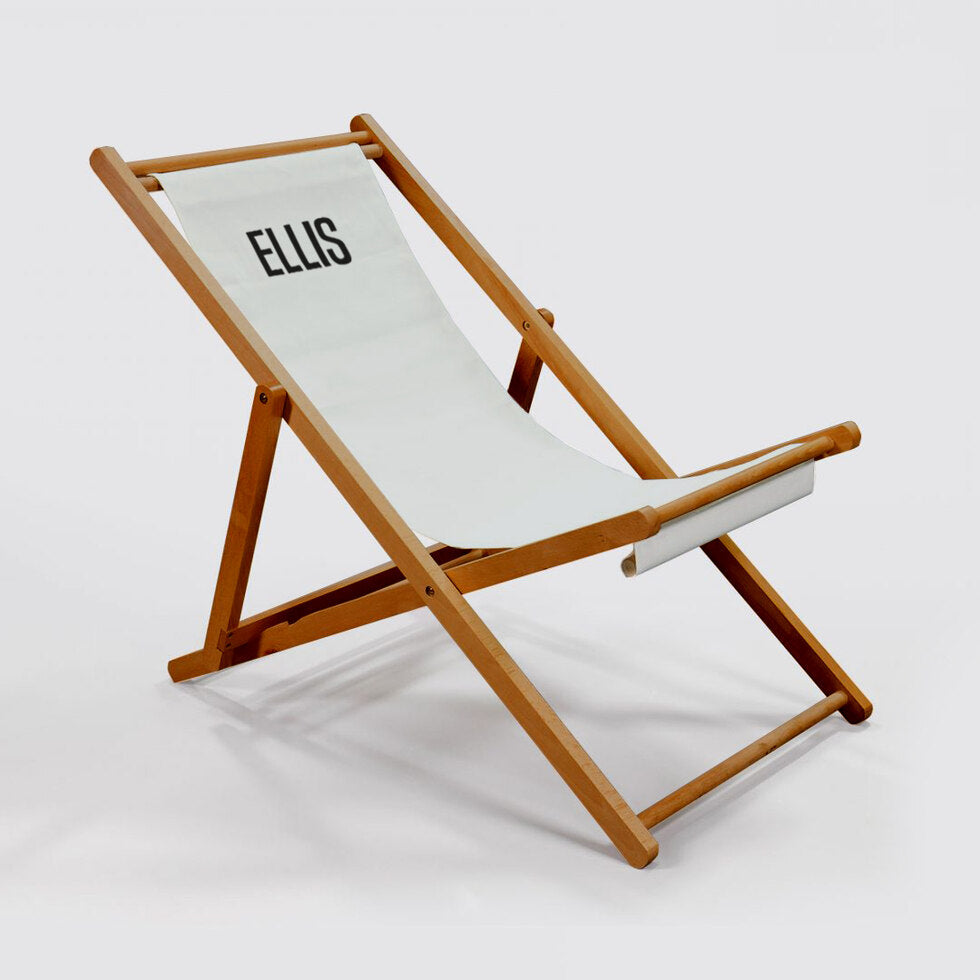 Personalised Deck Chair