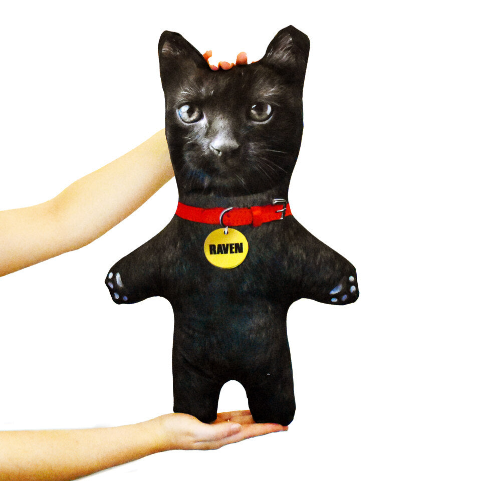 Pet Mini Me Black Cat - Personalised Doll