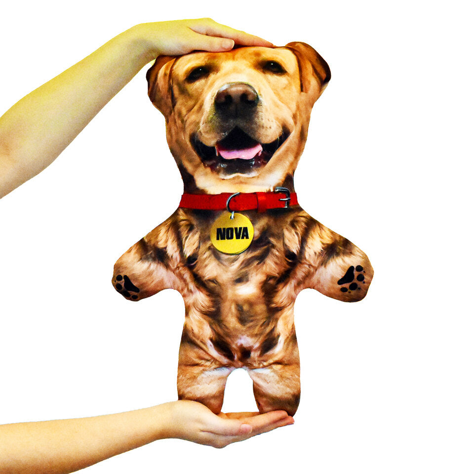 Pet Mini Me Blonde Dog - Personalised Doll
